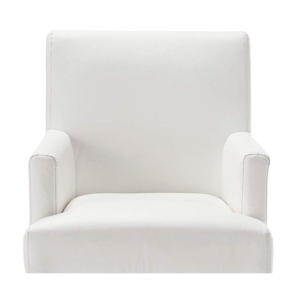 housse ivoire fauteuil de bar lounge maisons du monde. Black Bedroom Furniture Sets. Home Design Ideas