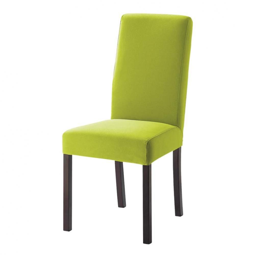 housse vert pomme margaux maisons du monde. Black Bedroom Furniture Sets. Home Design Ideas