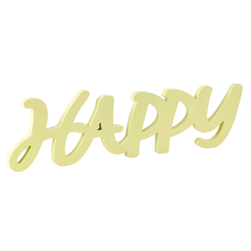 Home › decoratie › Wanddecoratie › Houten wanddecoratie, geel ...