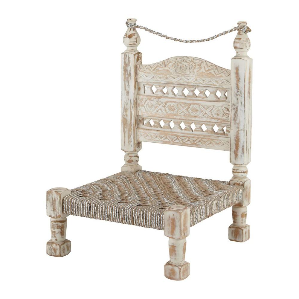 indischer stuhl holz gewei t diwali diwali maisons du. Black Bedroom Furniture Sets. Home Design Ideas