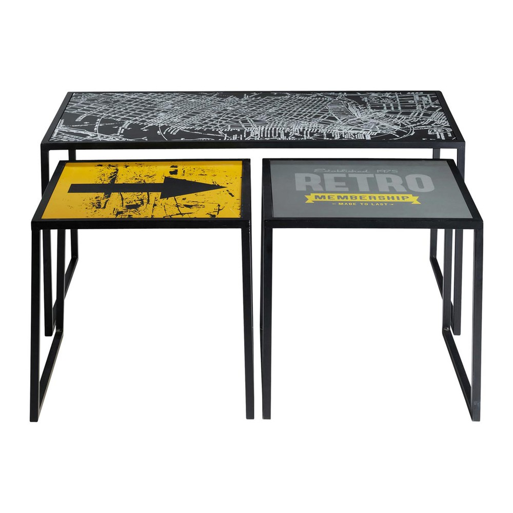 Industrial Coffee Table Target Target Maisons Du Monde
