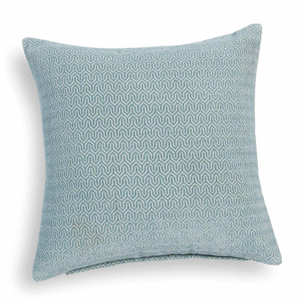 jobs blue cushion 45 x 45 cm maisons du monde. Black Bedroom Furniture Sets. Home Design Ideas
