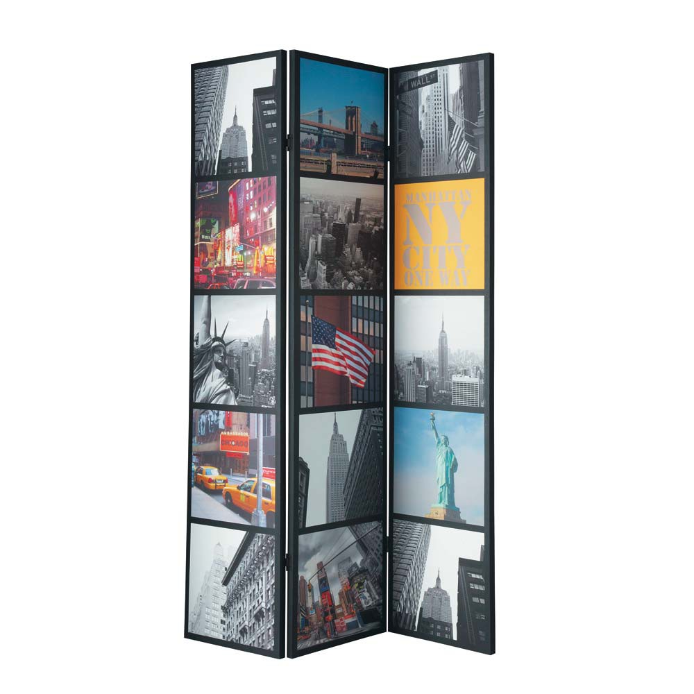 Home › decoratie › Kamerschermen › Kamerscherm NYC Patchwork