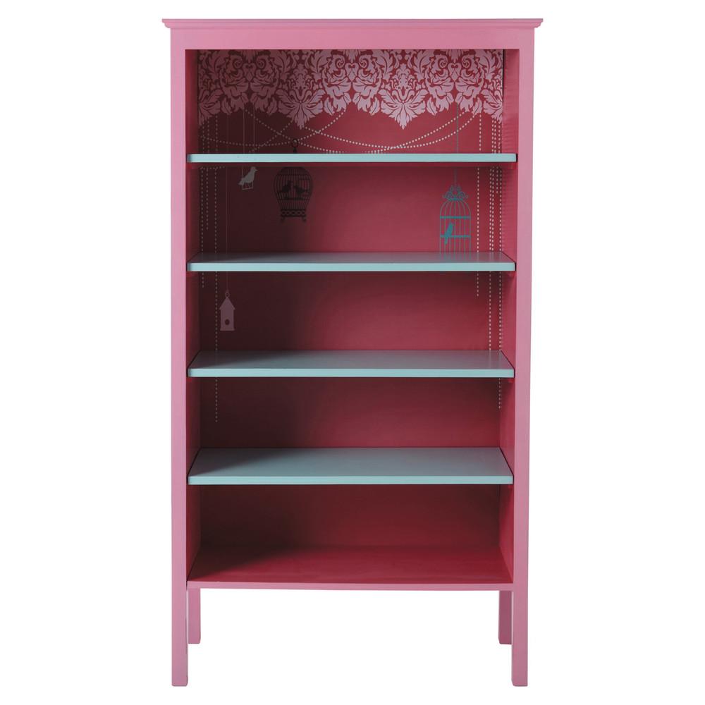 kinder b cherregal rosa jade jade maisons du monde. Black Bedroom Furniture Sets. Home Design Ideas