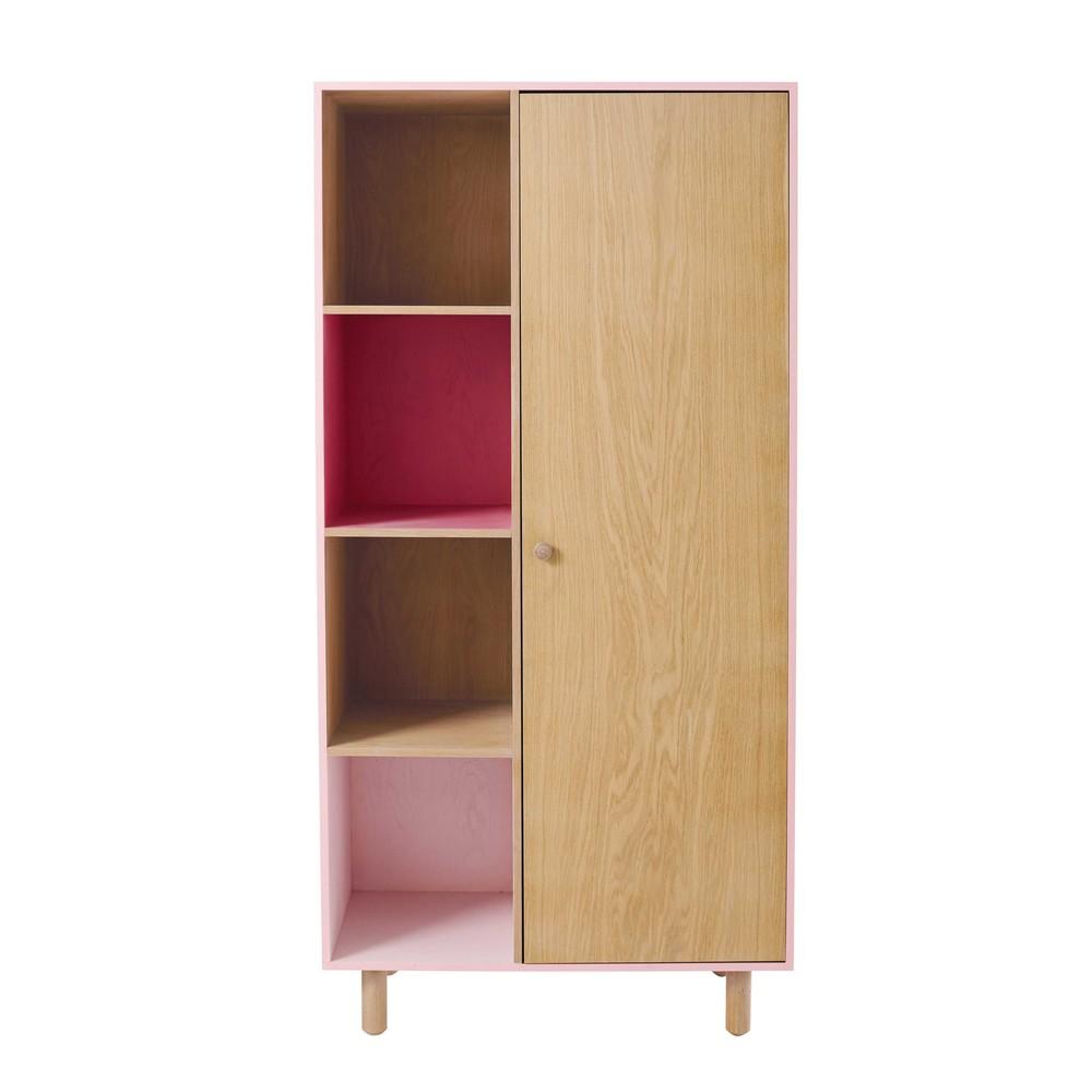 kinderkleiderschrank aus holz l 90 cm lea maisons du monde. Black Bedroom Furniture Sets. Home Design Ideas