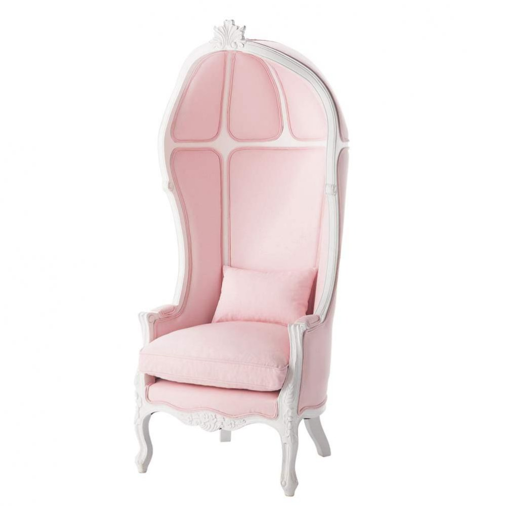 Kindersessel rosa  Kindersessel aus Holz und Baumwolle, rosa Carrosse Carrosse ...