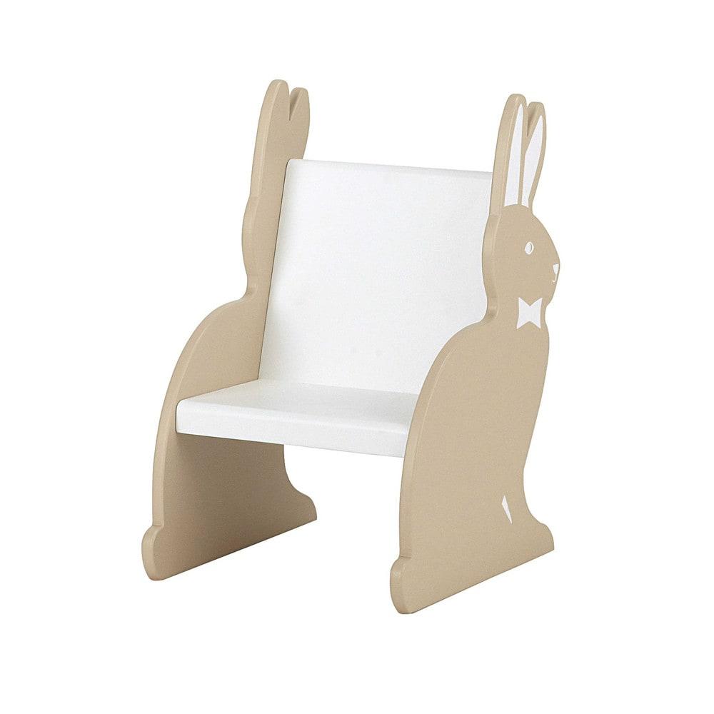 kinderstuhl aus holz b 38 cm beige lapinou lapinou maisons du monde. Black Bedroom Furniture Sets. Home Design Ideas