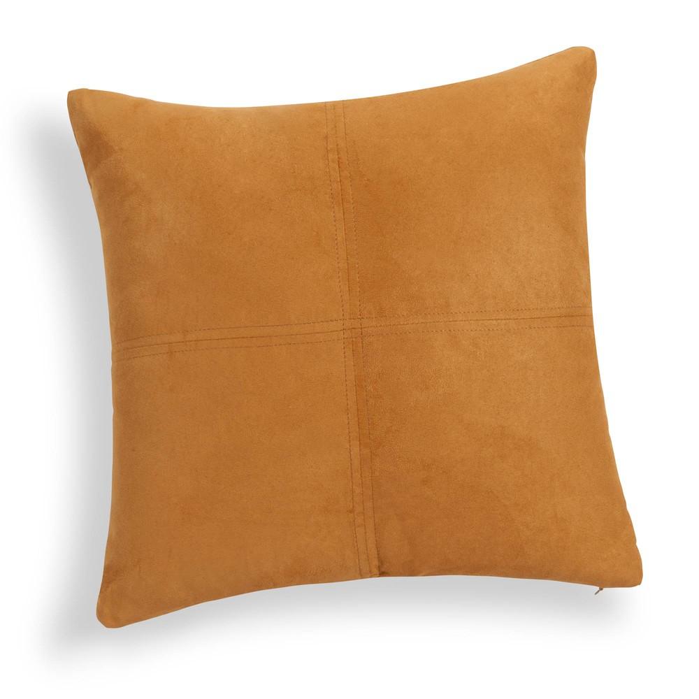 kissen gelb 60 x 60 cm swedine maisons du monde. Black Bedroom Furniture Sets. Home Design Ideas