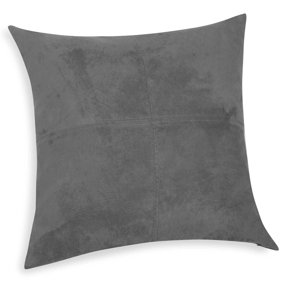 kissen kohlegrau 40 x 40 cm swedine maisons du monde. Black Bedroom Furniture Sets. Home Design Ideas