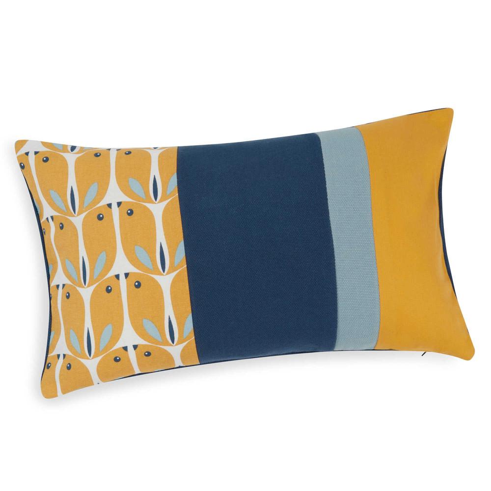 kissenbezug aus baumwolle 30 x 50 cm woodpecker maisons du monde. Black Bedroom Furniture Sets. Home Design Ideas