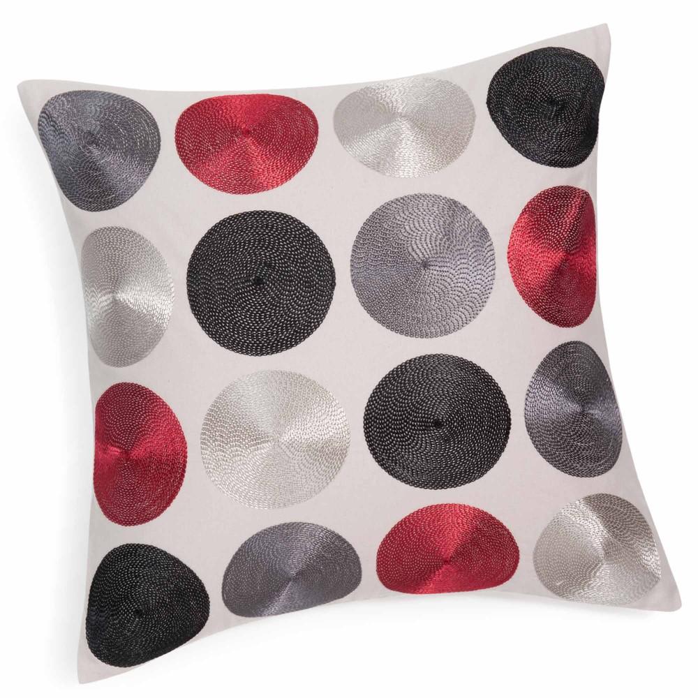 kissenbezug aus baumwolle 40 x 40 cm pastilla maisons du monde. Black Bedroom Furniture Sets. Home Design Ideas