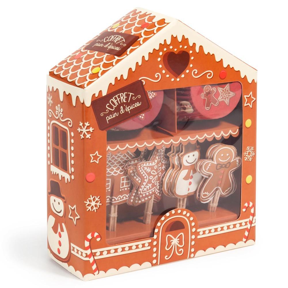 kit pour d coration de cupcake pain d 39 pice maisons du monde. Black Bedroom Furniture Sets. Home Design Ideas