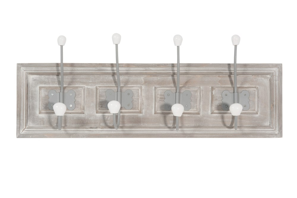 kleiderhaken borderies aus holz mit 4 aufh ngern maisons du monde. Black Bedroom Furniture Sets. Home Design Ideas
