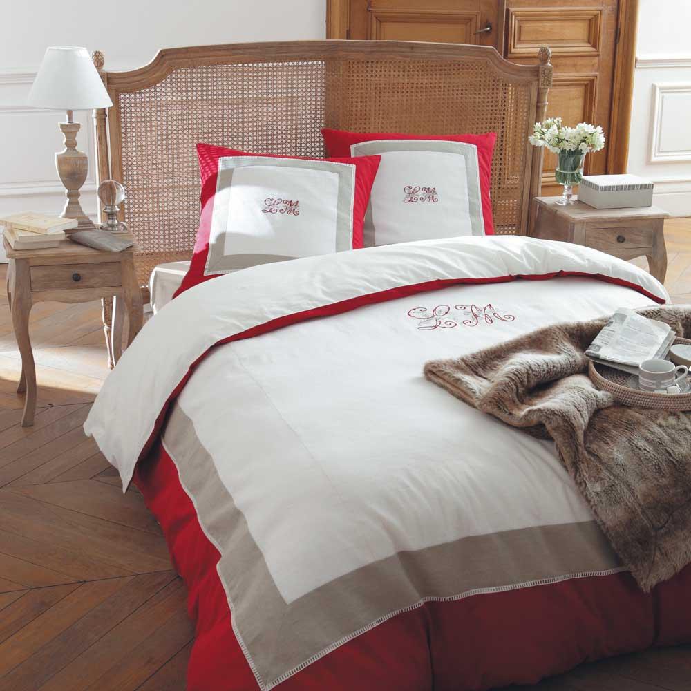 la maison duvet set 240x260 maisons du monde. Black Bedroom Furniture Sets. Home Design Ideas