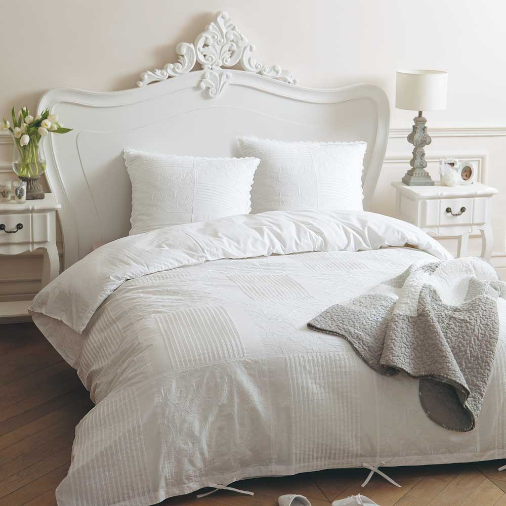 Lace duvet set 220x240 maisons du monde for Maison de monde uk