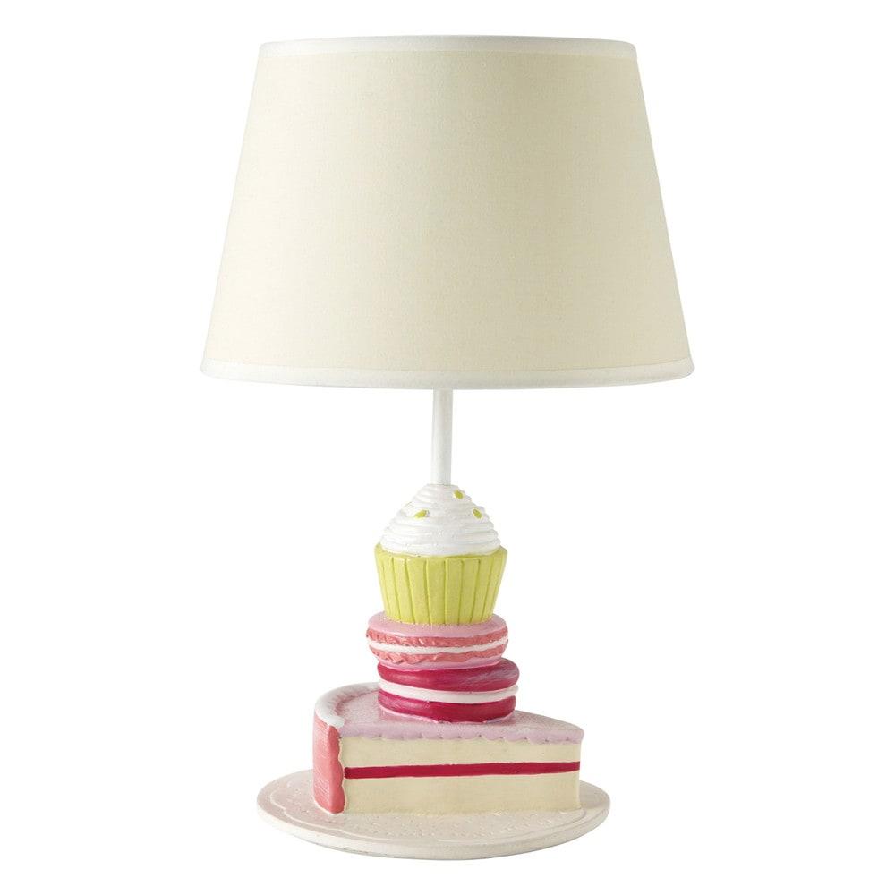 Lampade Comodino Per Bambini: Lampada Da Comodino Cuori Di ... Lampada Per  Bambini Gourmandise Maisons Du Monde