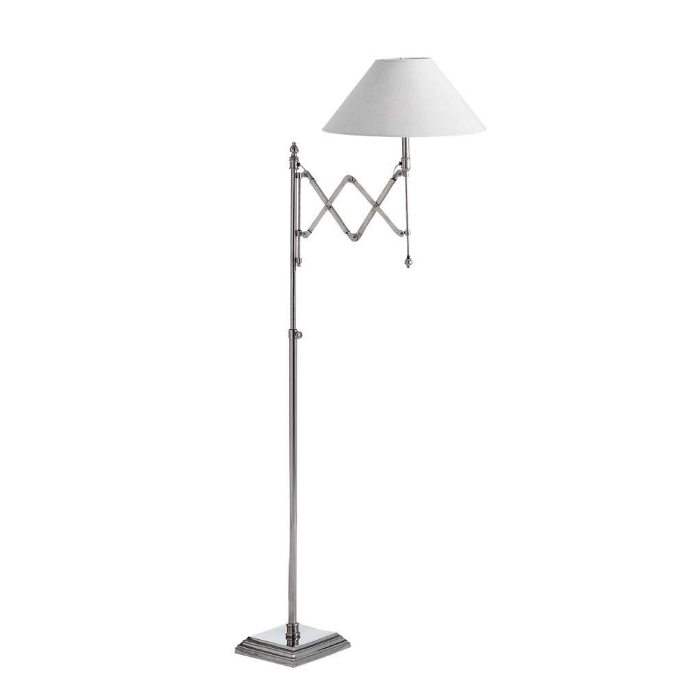 lampadaire chrome cologne maisons du monde. Black Bedroom Furniture Sets. Home Design Ideas