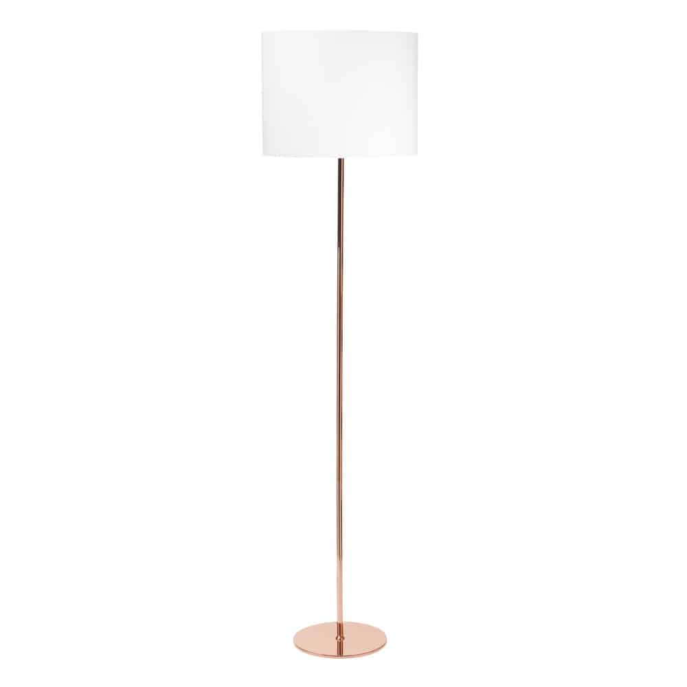 lampadaire en m tal cuivr h 157 cm isa copper maisons du monde. Black Bedroom Furniture Sets. Home Design Ideas