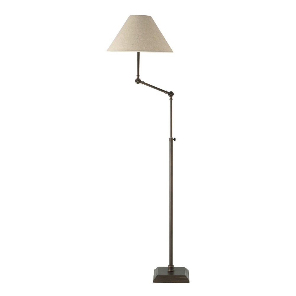 lampadaire en m tal et coton beige h 179 cm br me maisons du monde. Black Bedroom Furniture Sets. Home Design Ideas
