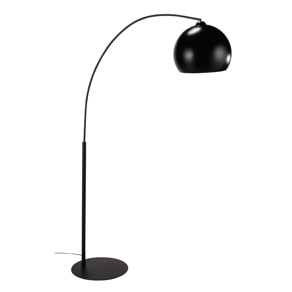 lampadaire en m tal noir h 190 cm black sphere maisons du monde. Black Bedroom Furniture Sets. Home Design Ideas