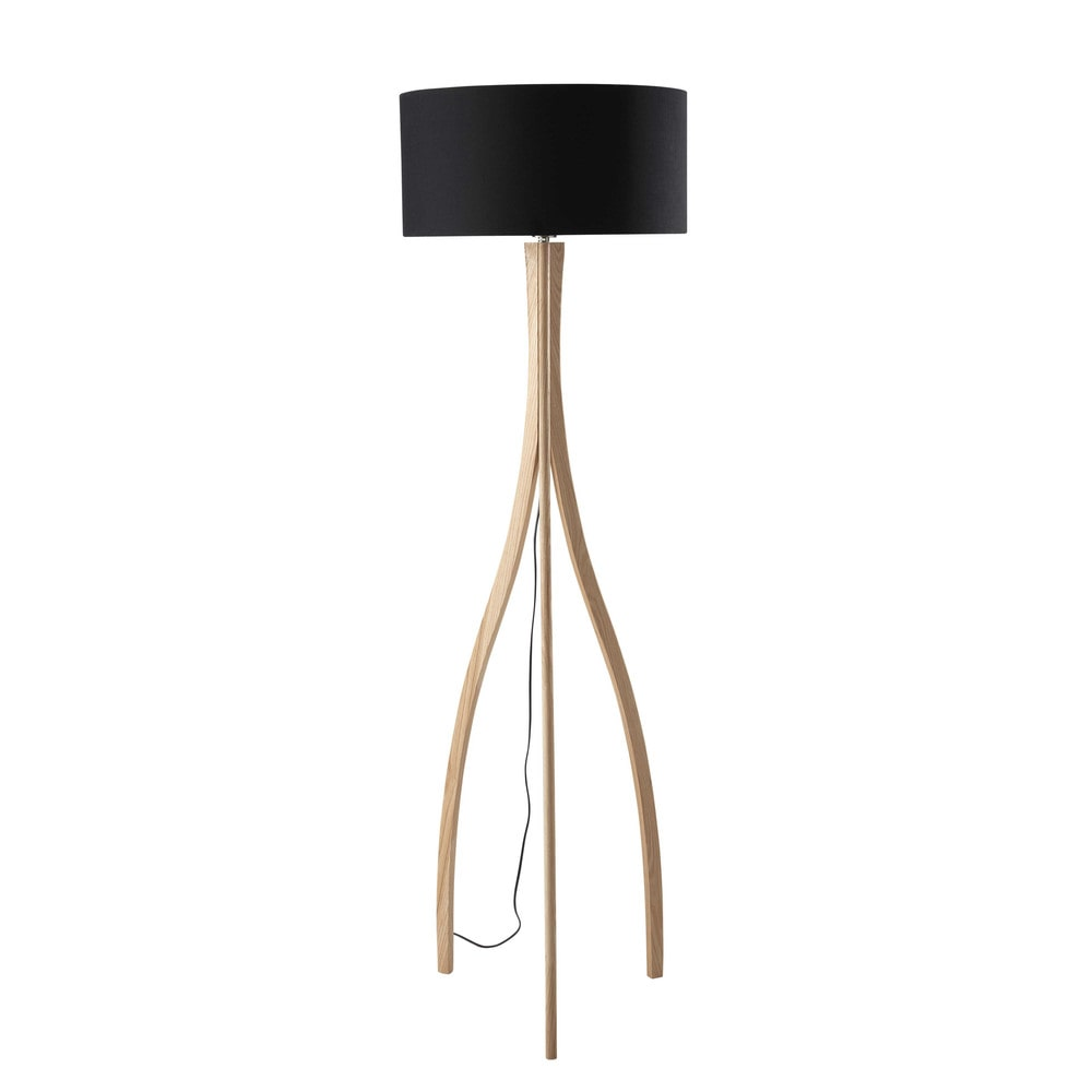 Lampadaire Bois Maison Du Monde : Cylindar Lamp Floor 72
