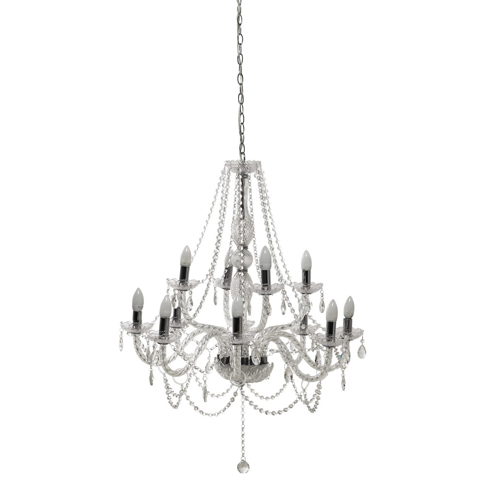 ispirazioni Cristallo lampadari : ... ? Lampadari ? Lampadario 12 bracci in cristallo D 80 cm HONORINE