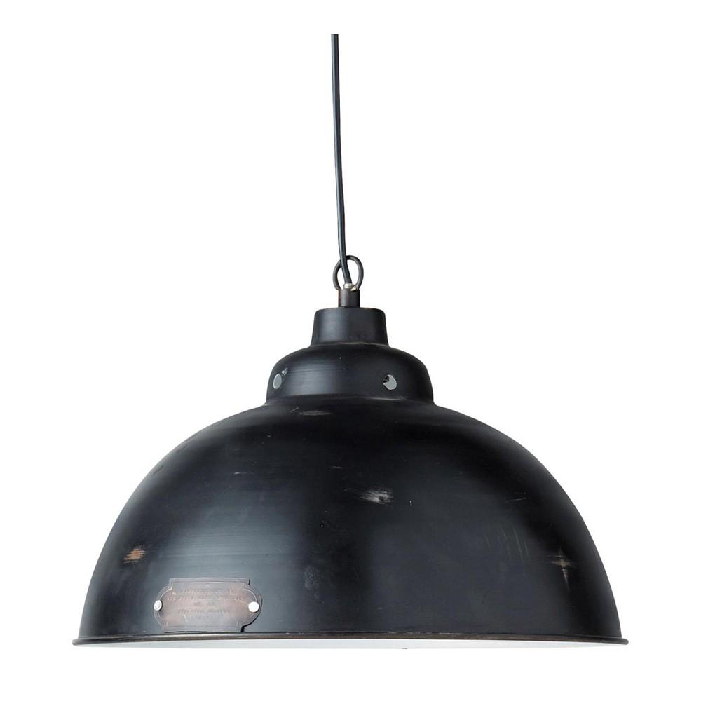 Lampadario nero in metallo D 38 cm HARVEY Maisons du Monde