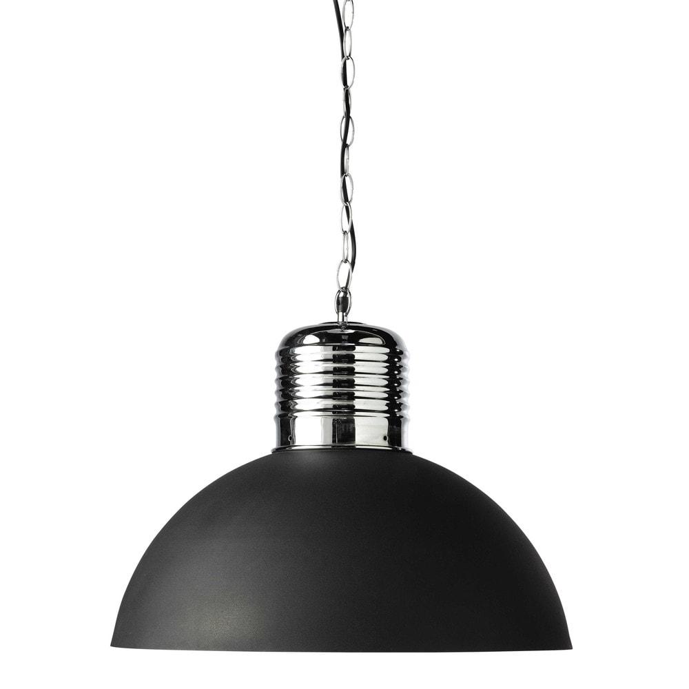 lampadario nero : Lampadario nero in metallo D 50 cm ROTTERDAM Maisons du Monde