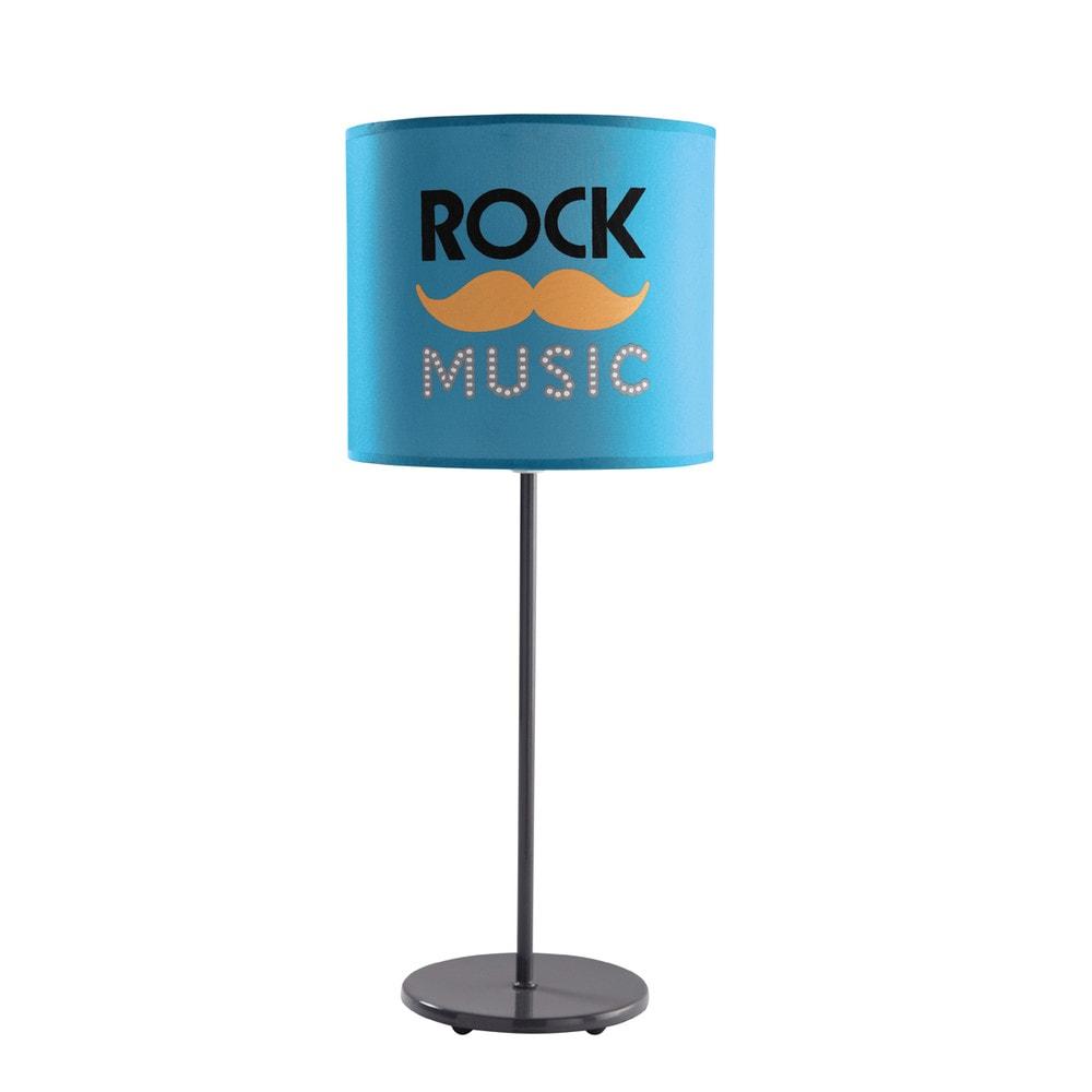 L mpara de mesilla de noche rock music maisons du monde - Mesillas de noche maison du monde ...