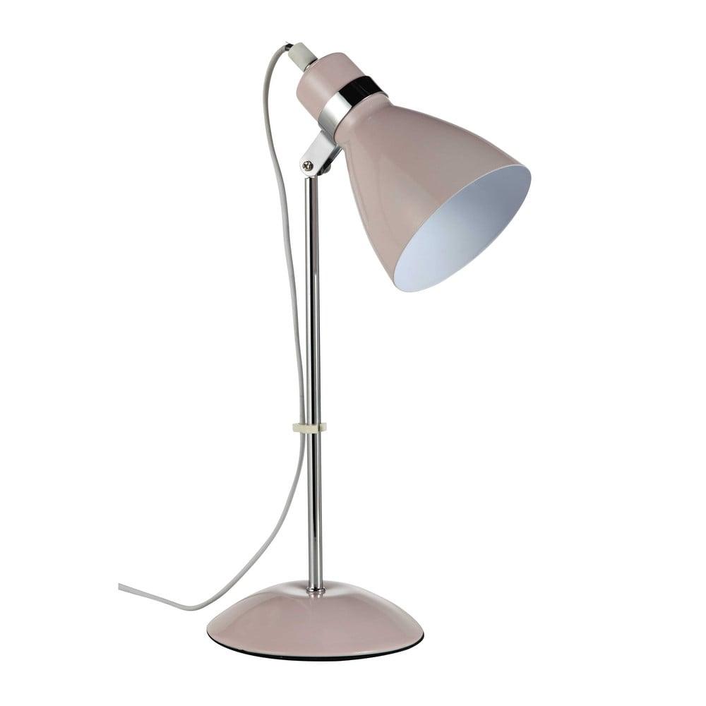 Lampe de bureau en m tal rose h 38 cm pix maisons du monde - Lampe de bureau design ...