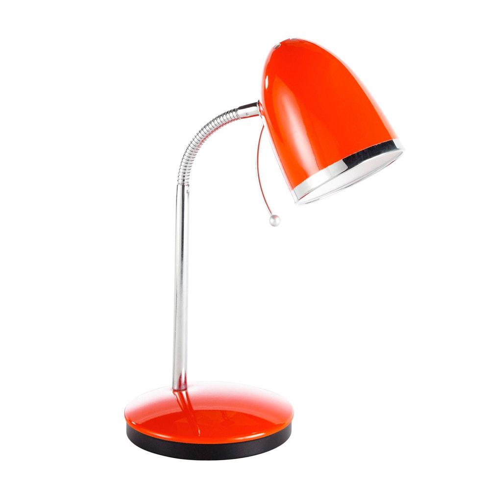 Lampe de bureau rouge Swing Maisons du Monde