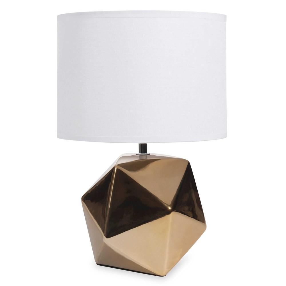 lampe en c ramique h 35 cm origamix maisons du monde. Black Bedroom Furniture Sets. Home Design Ideas