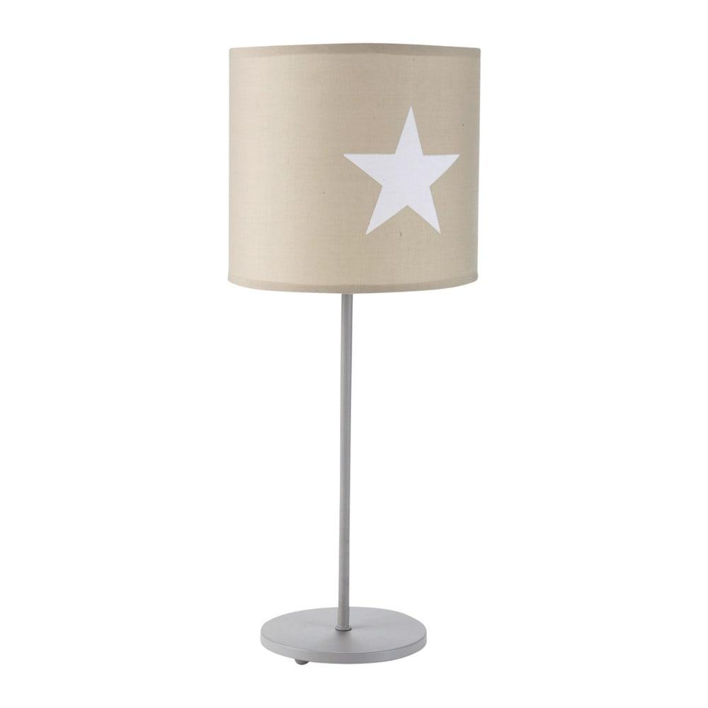 lampe en m tal taupe h 49 cm pastel maisons du monde. Black Bedroom Furniture Sets. Home Design Ideas