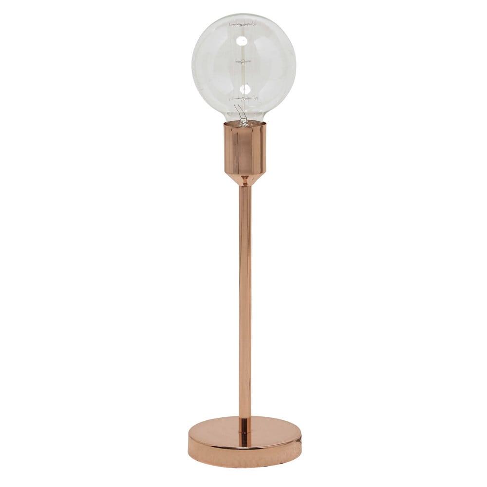 lampe idea copper aus metall h 41 cm kupferfarben maisons du monde. Black Bedroom Furniture Sets. Home Design Ideas