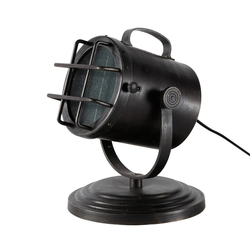 Lampe projecteur m tal littoral maisons du monde for Projecteur deco