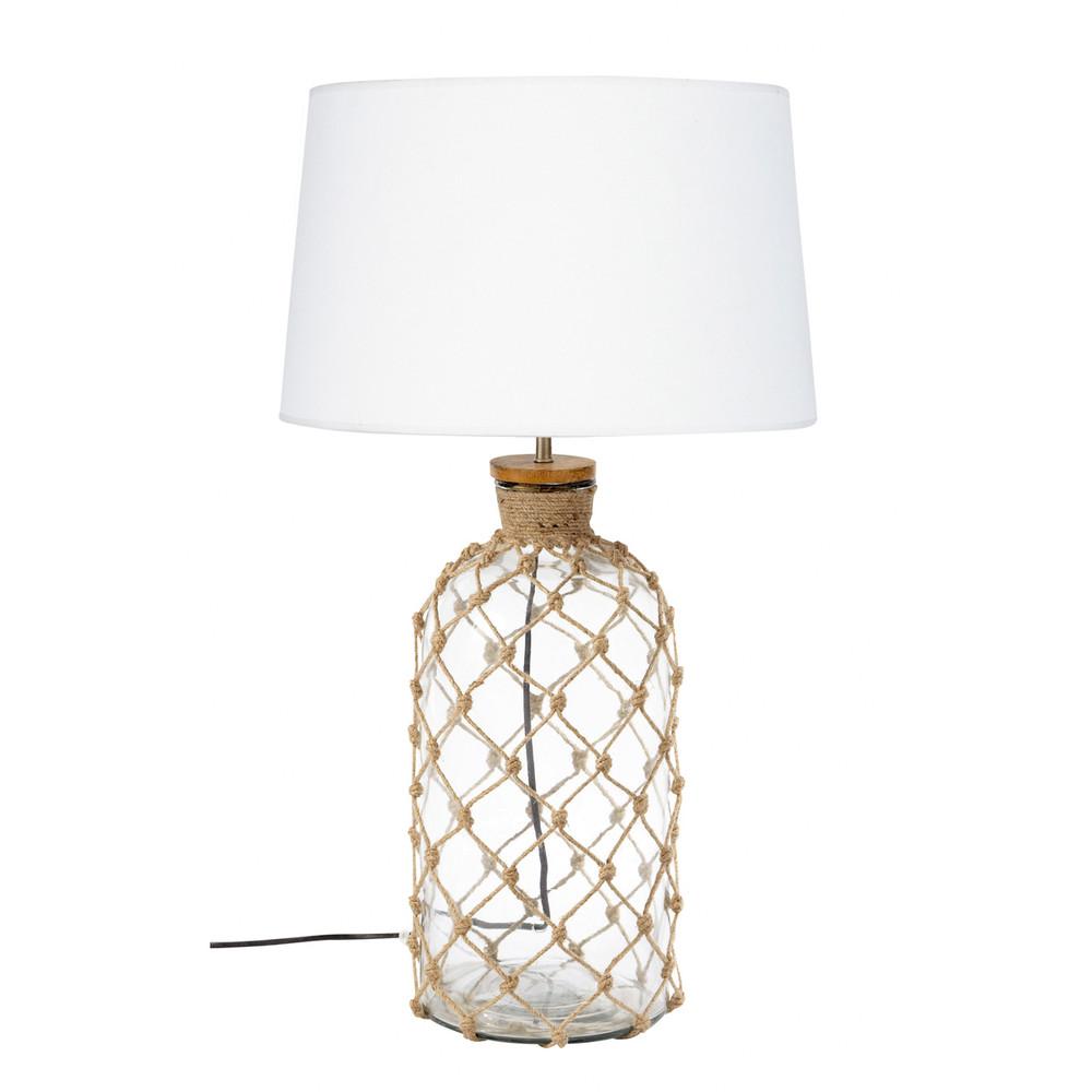 Lampe verre cordage maisons du monde - Lampes maison du monde ...