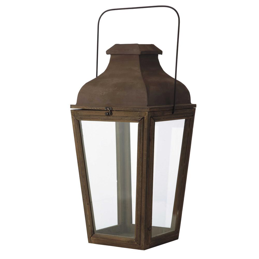 arredo › Lanterne da giardino › Lanterna da giardino in legno ...
