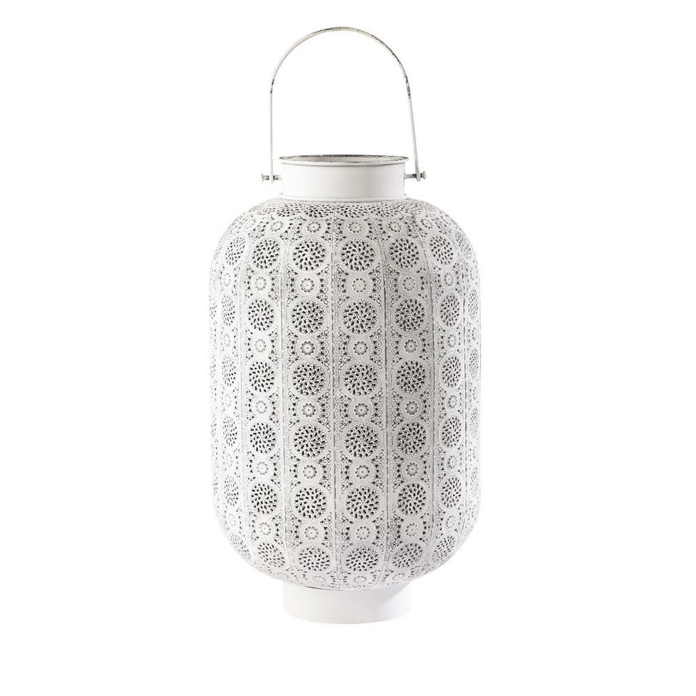 lanterne blanche jakarta maisons du monde. Black Bedroom Furniture Sets. Home Design Ideas