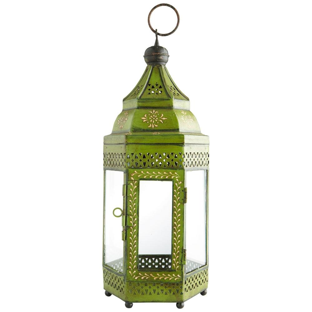 Lanterne caravane verte maisons du monde - Lanterne exterieur maison du monde ...