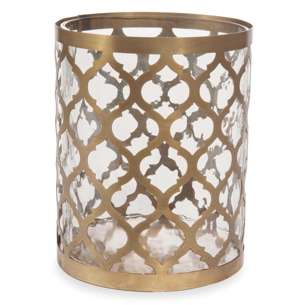 Laterne aus glas h 17 cm canetti maisons du monde for Laterne aus glas