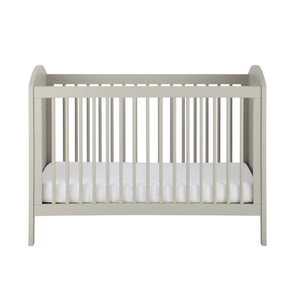 Lettino con sbarre per neonato in legno talpa l 126 cm - Sbarre per letto ...