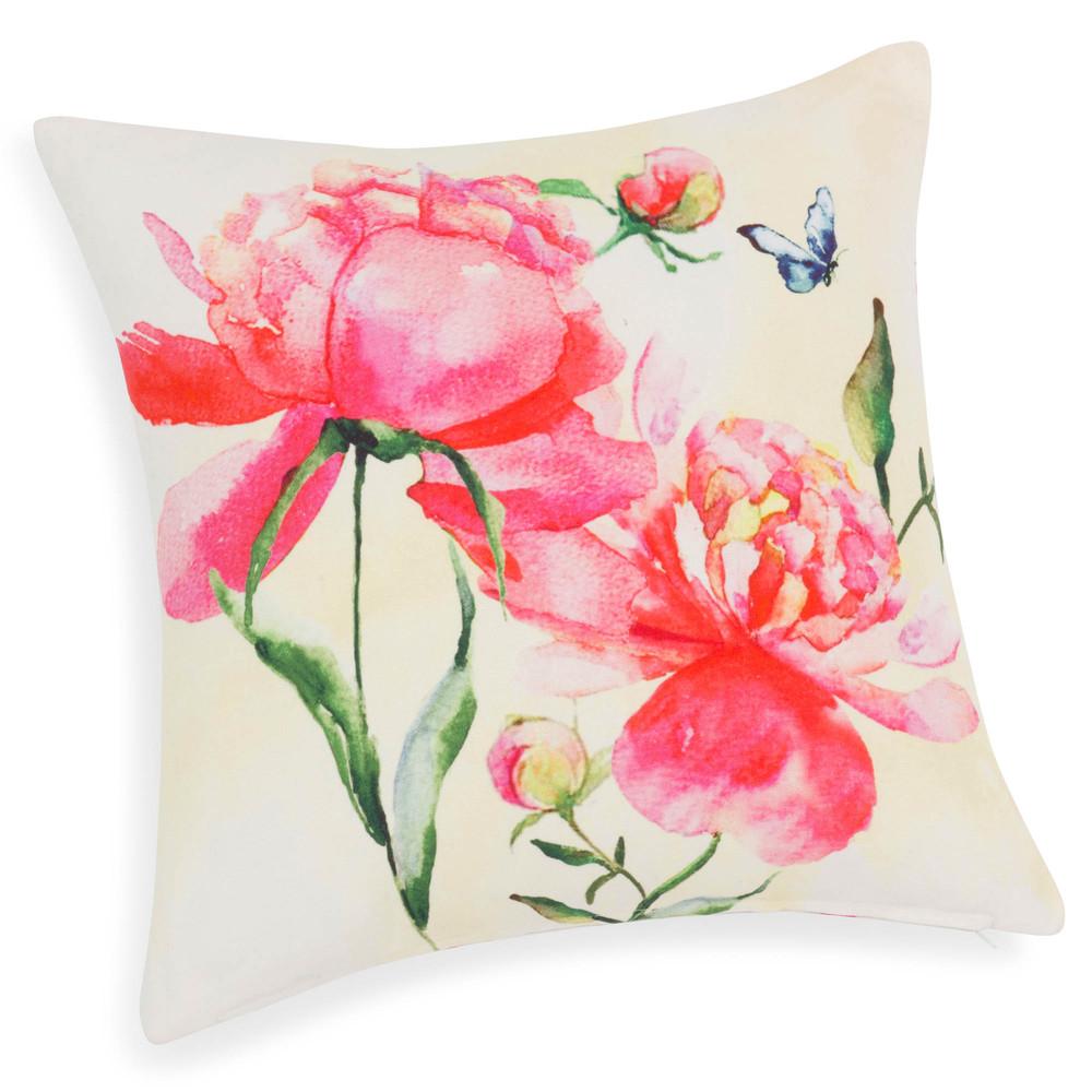 Lili cotton cushion cover 40 x 40 cm maisons du monde - Maison du monde housse de coussin ...