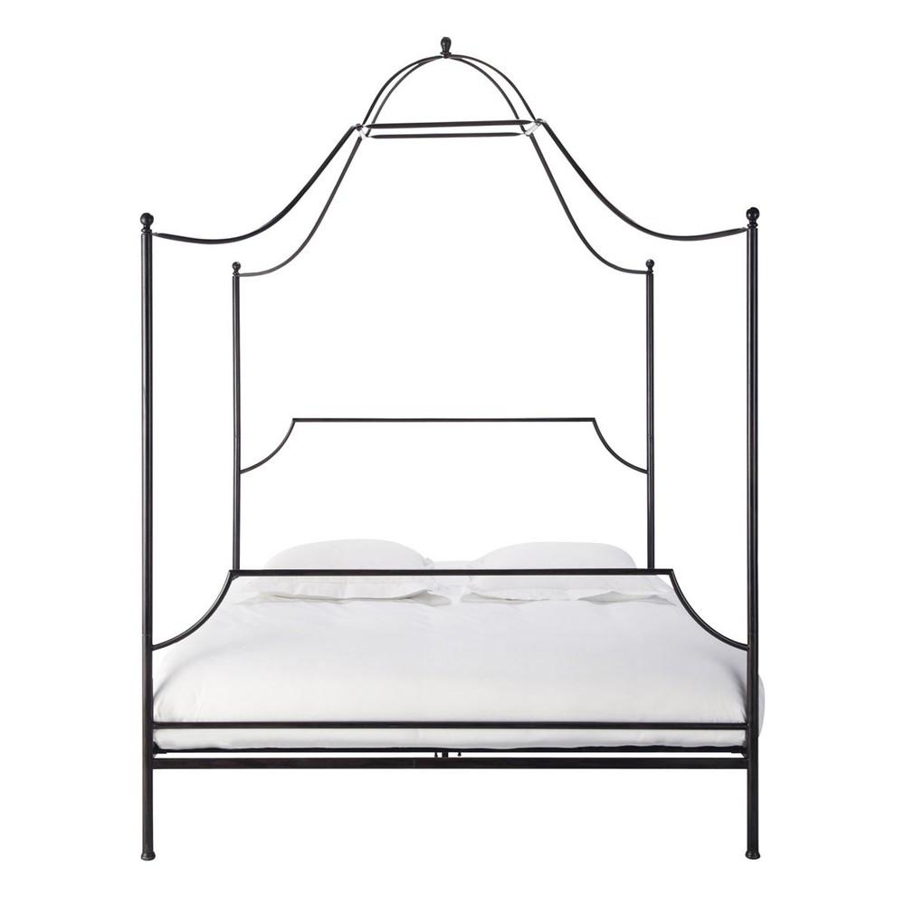 lit baldaquin 160 m tal baudouin maisons du monde. Black Bedroom Furniture Sets. Home Design Ideas