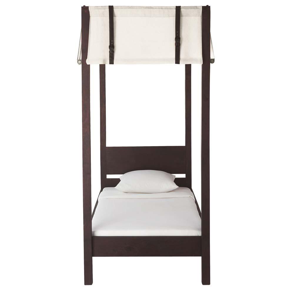 stunning lit baldaquin enfant x cm with lit baldaquin bois. Black Bedroom Furniture Sets. Home Design Ideas