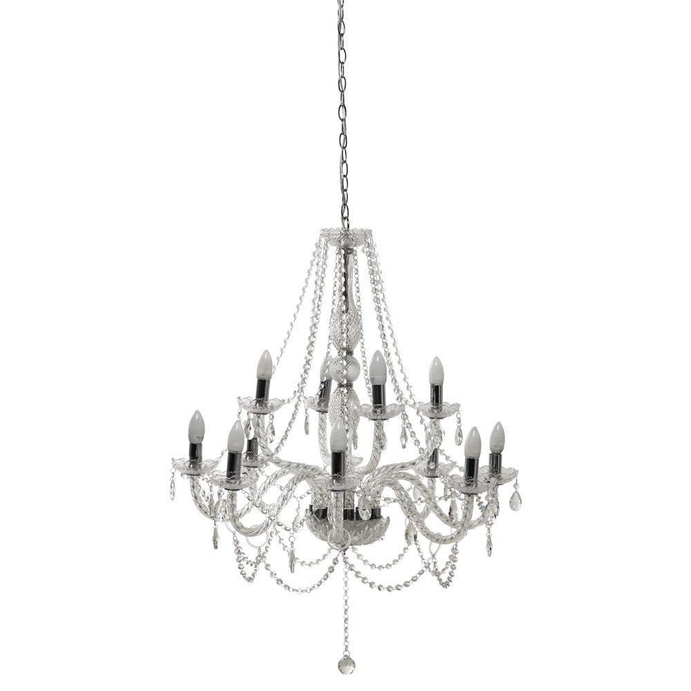 awesome lustre branches en cristal d cm honorine with lustre boule cristal. Black Bedroom Furniture Sets. Home Design Ideas