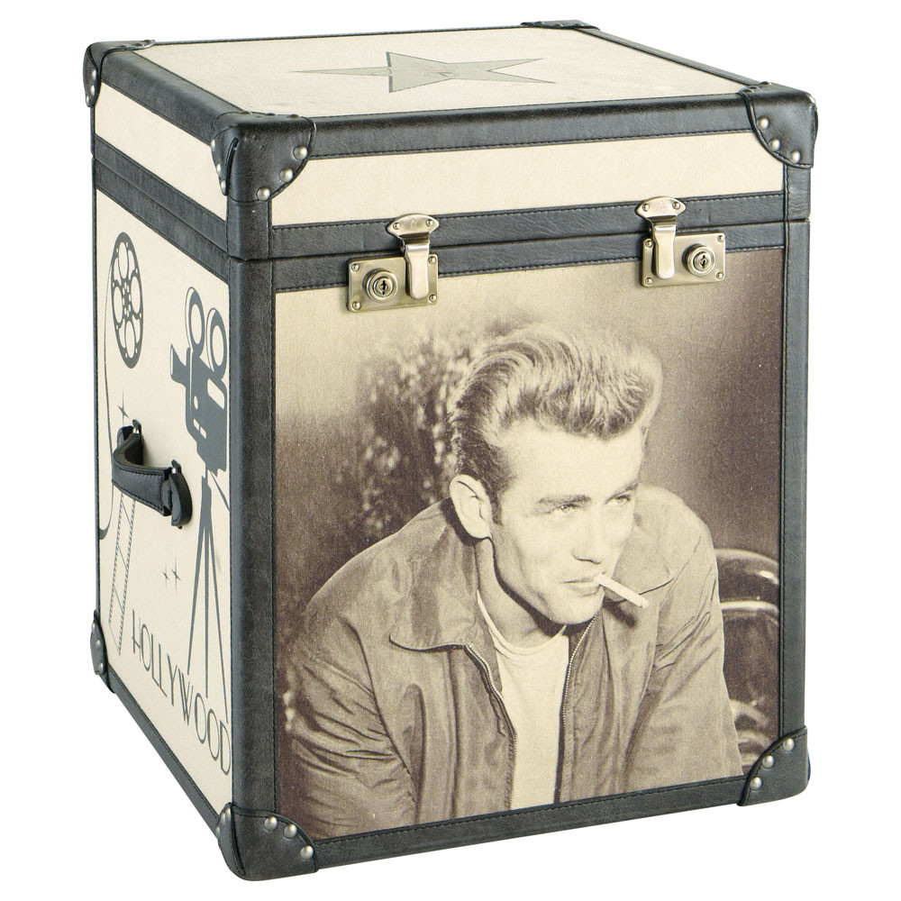 malle james dean celebrity maisons du monde. Black Bedroom Furniture Sets. Home Design Ideas