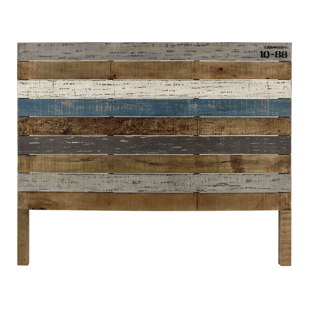 Mango wood board 140cm headboard sailor maisons du monde for Maison de monde uk