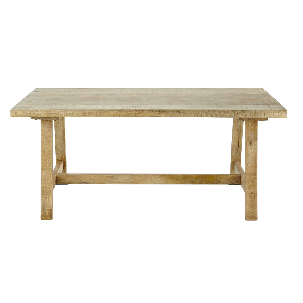 Mango wood dining table w 180cm farmers maisons du monde for Maison du monde table