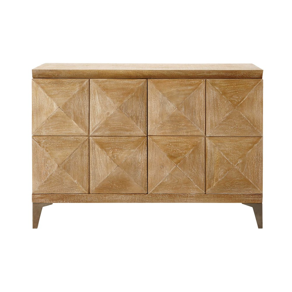 Mango wood sideboard w 102cm octo maisons du monde for Maison de monde uk