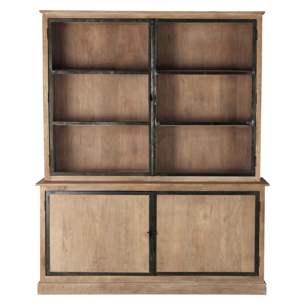 mangohouten buffetkast b 177 cm archibald maisons du monde. Black Bedroom Furniture Sets. Home Design Ideas
